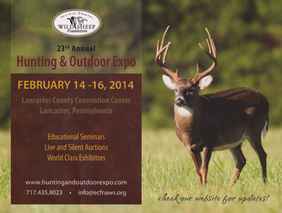 Hunting Outdoor Expo Flyer