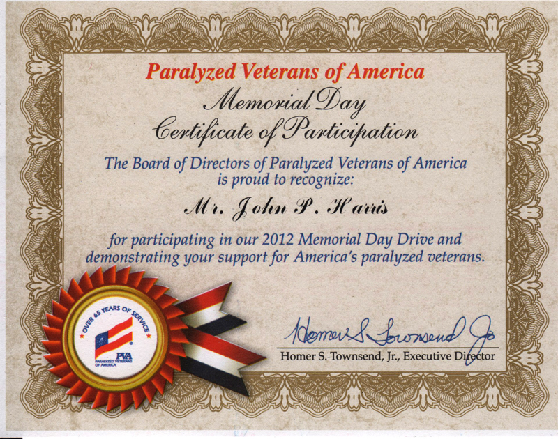 Paralized Veterans